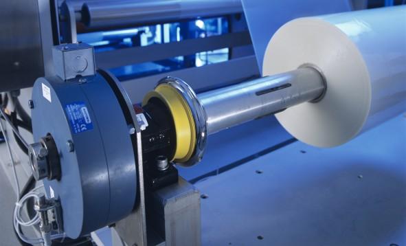 Beispielanwendung für GB Magnetpulverbremse